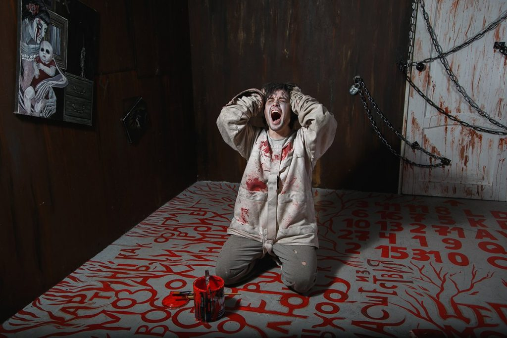 Our serial killer escape room in the Sacramento area is perfect idea for date night
